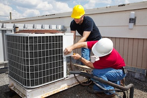 Residential services air conditioning install