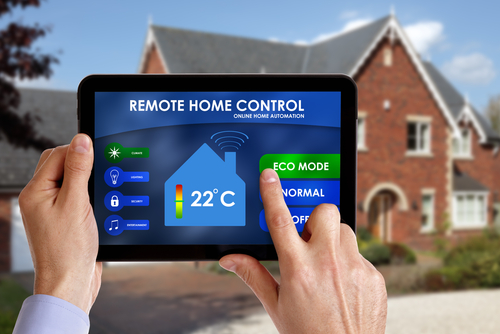 Remote Home controls